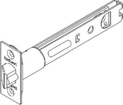 Kwikset Pb Entry Deadlatch 3014 Us3 Deadlatch Replacement front-1087146
