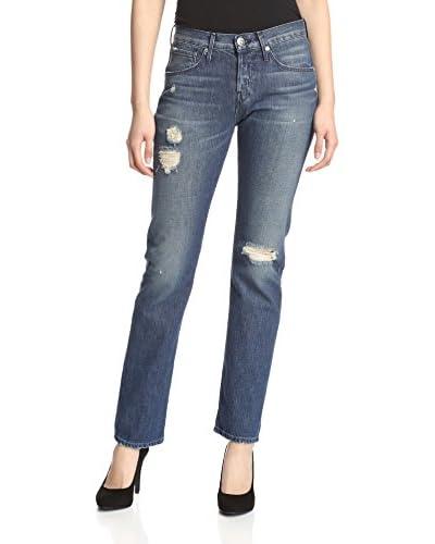 3×1 Women's W3 Retro Straight Leg Jean