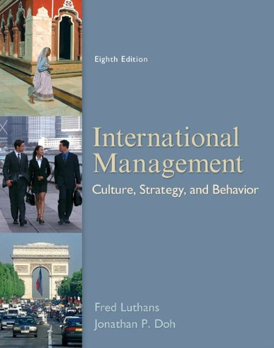 International Management: Culture, Strategy, and...