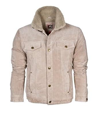 IL2L Men's Suede Trucker Style Jacket (S)
