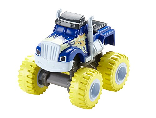 Blaze-y-los-Monster-Machines-Blaze-DKV74-Coche-Crusher-Lluvia-de-bananas