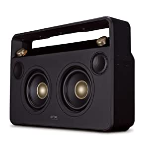 TDK A73 Life on Record Wireless Bluetooth 2.1 Boombox Speaker System - Black