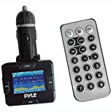 41U0%2BUVTPpL. SL160  PYLE PLMP3C31B Plug In Car Wireless USB/SD/MMC/MP3/MP4/Ipod FM Modulator And Transmitter w/USB Charging Port w/Bluetooth Hands Free Kit For All Bluetooth Phones