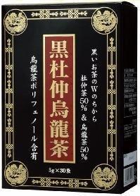 光 黒杜仲烏龍茶(箱) 5g×30袋