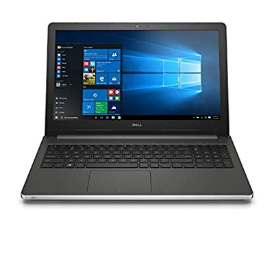 "Inspiron i7-15RSLV Dell 15R 5559 15.6"" FHD Touch 6th Gen i7-6500U 16GB 1TB HDD Upto 4GB AMD Graphics Windows10 Back-lit KeyBoard (1920x1080) DVDRW(Silver)"