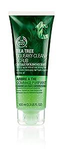 The Body Shop Tea Tree Daily Scrub, 3.3 Ounce