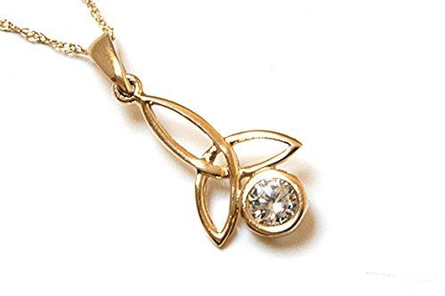 peninsula-jewellery-ciondolo-con-catenina-in-stile-celtico-in-oro-9k-e-zirconi-cubici