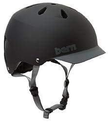 BERN Watts EPS Summer Helmet with Visor by Bern