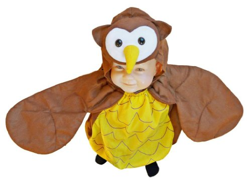 Fantasy World Girl's F68 Owl Costume (9 Months-2t)