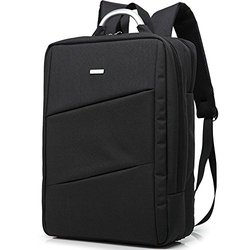 original-oneplus-fashion-travel-backpack-156-laptop-backpack-travel-bag-nylon-black