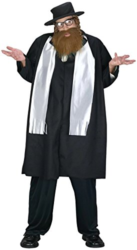 Rabbi Plus Size Adult Costume