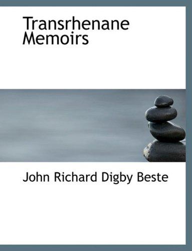 Transrhenane Memoirs (Large Print Edition)