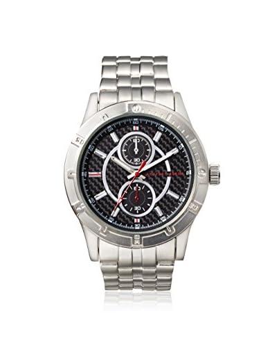 Geoffrey Beene Men's GB8016SLRD Metal/Black Stainless Steel Watch