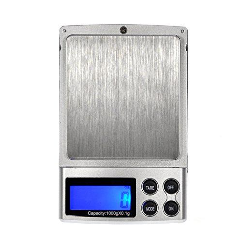 GIZGA® Mini Balance Electronique de Précision LCD Numérique Pèse Balance de Poche / Bijoux 1000g/0.1g