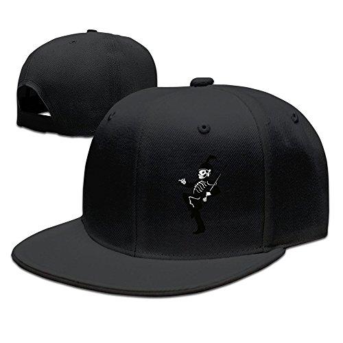 Long5ZG - Cappellino da baseball - Unisex - Adulto nero Taglia unica
