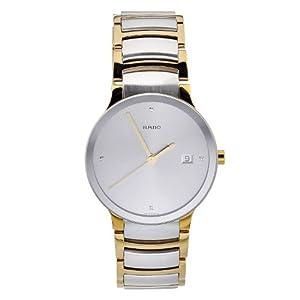 Rado Men's R30931713 Quartz Stainless Steel Silver Dial Watch