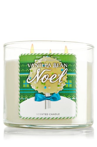 Bath and Body Works Vanilla Bean Noel Candle, 14.5 Oz 2013 Style