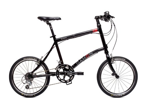 Dahon Silvertip Folding Bike (Obsidian, Medium)