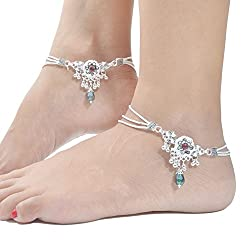 Charms Diva Precious Alloy Anklets