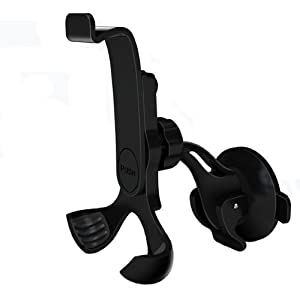 DELUX Universal Smartphone 360 degree Windshield car mount with quick release - DLX-02 by DELUX