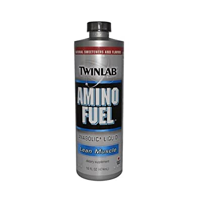 Twinlab - Amino Fuel Anabolic Liquid - [with SIZE and FLAVOR options]