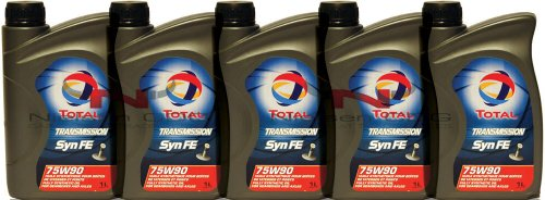 Total Transmission SYN FE 75W90 Gear Oil TOT-166273-5 - 5x1L = 5L
