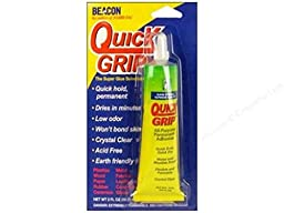 2oz Beacon Quick Grip Bonding Glue Adhesive All Purpose Clear Flexable Permanent