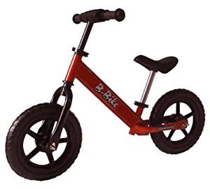 Ukayed Solid Balance Bike Made From High Tensile Steel (red)