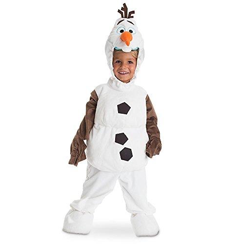 Disney Store Deluxe Frozen Olaf Plush Halloween Costume for Kids
