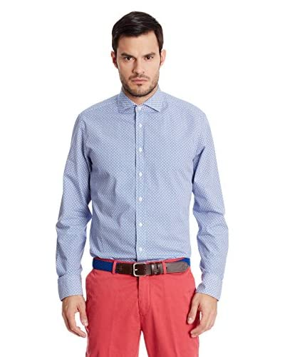 Hackett London Camicia Uomo [Blu]