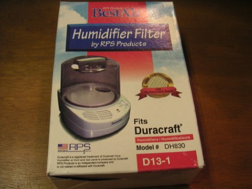 Best Air Humidifier Filter for Duracraft humidifiers model DH830 - 1