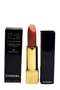 Chanel Rouge Allure Luminous Satin Lip Colour Lipstick 78 Instinctive .12 oz