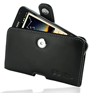 PDair P01 Black Leather Case for Samsung Galaxy Note GT-N7000