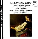 John Ogdon Schumann: Piano Concerto op54. Grieg: Piano Concerto op16