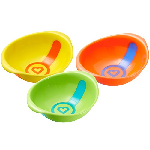 Munchkin White Hot Toddler Bowls, 3 Count - 1