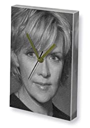 AMANDA TAPPING - Canvas Clock (LARGE A3 - Signed by the Artist) #js003
