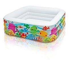 Intex Clearview Aquarium Pool, Multi Color
