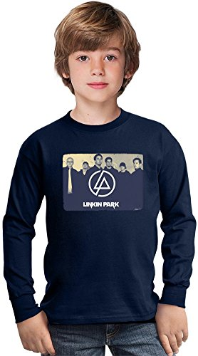 Linkin Park Amazing Kids Long Sleeved Shirt by True Fans Apparel - 100% Cotton- Ideal For Active Boys-Casual Wear - Perfect For A Present Unisex 5-6 years