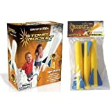 Stomp Rocket Junior Glow Kit with Extra Jr. Glow Rocket Refills