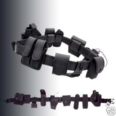 Modular Equipment System Belt For Security &