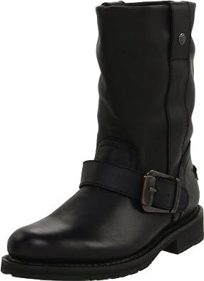 Harley-Davidson Women's Darice Motorcycle Boot,Black,5 M US