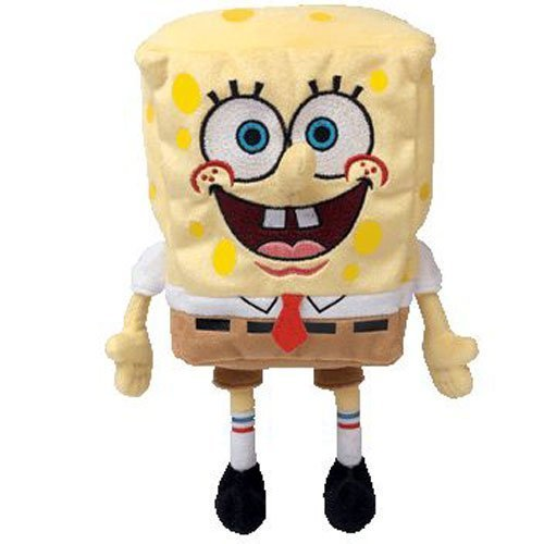 TY Beanie Baby - SPONGEBOB SQUAREPANTS ( Spongebob Movie Promo )