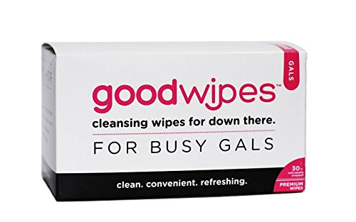 Goodwipes Cleansing Wipes For Down There - Gals Set Of 30