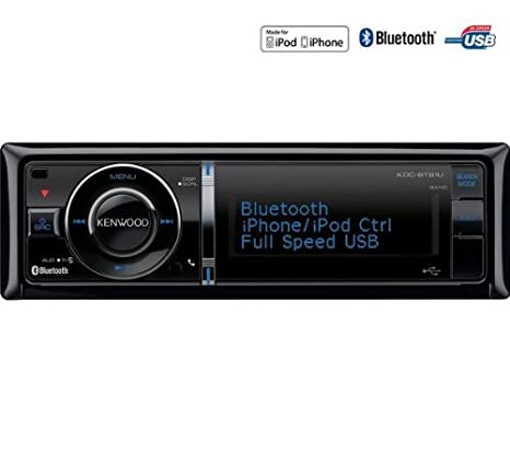 KDC-BT92SD autoradio lecteur CD, carte SD, USB, Bluetooth, controle iPod/iPhone