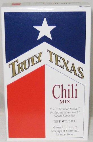 Truly Texas Chili Spice Mix - 4 Pack (Texas Chili Powder compare prices)