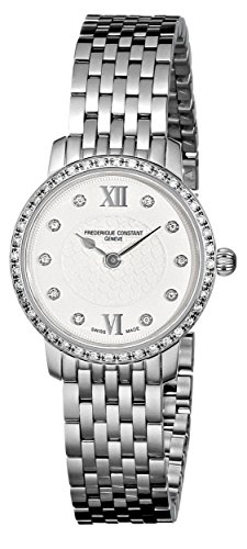 Frederique Constant Women'S Fc200Whdsd6B Diamond-Accented Watch