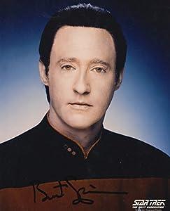 ORIGINAL Star Trek Brett Spiner Autographed Photo