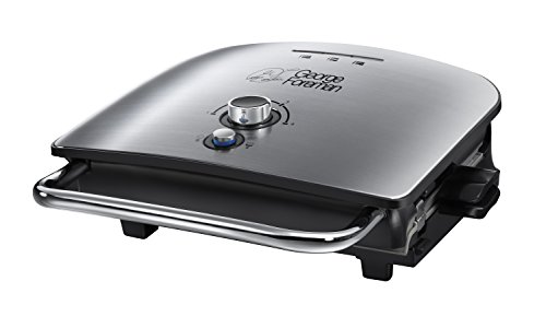 george-foreman-22160-advanced-five-portion-grill-and-melt-silver-by-george-foreman