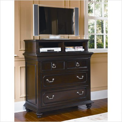 Picture of Wynwood 1749-66 Windsor Manor Three Drawer Media Chest in Antique Cherry B003XQ2BLO (Wynwood)