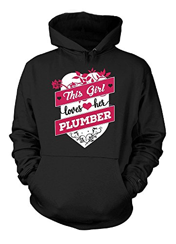 This Girl Loves Her Plumber. Cool Gift Velveteen Heavy Blend Pullover Adult Unisex Hoodie Sweatshirt (Plumbers In Seattle compare prices)